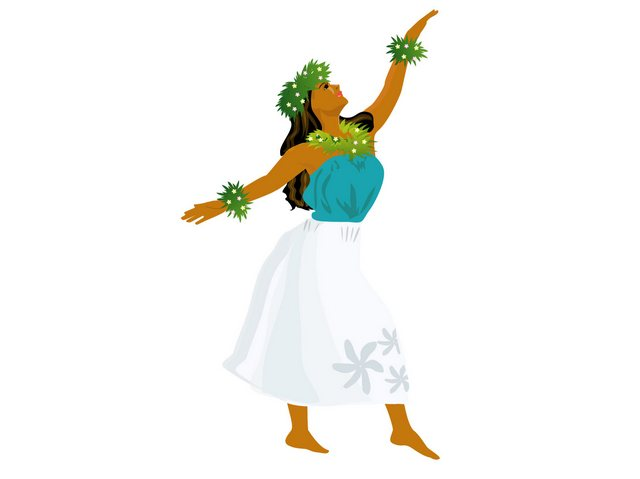 フラダンスのステップ「カホロフキ」の踊り方