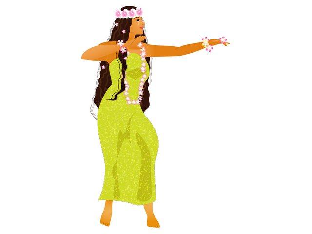 フラダンスのステップ「カベル」の踊り方