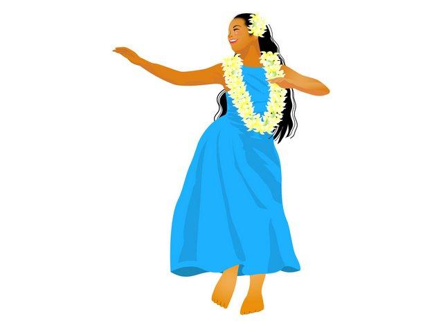 フラダンスのステップ「ヘラ」の踊り方