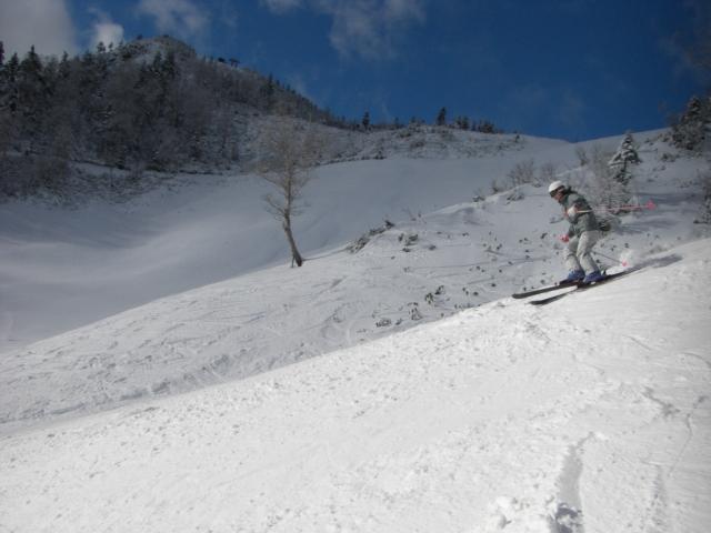 角付けの感覚とロングターン|スキーの滑り方