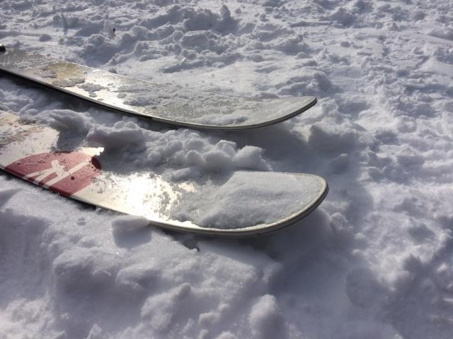 階段登行のやり方 スキーの基本