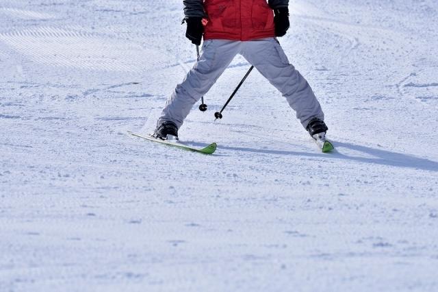 ずらしを意識した練習 スキーの滑り方