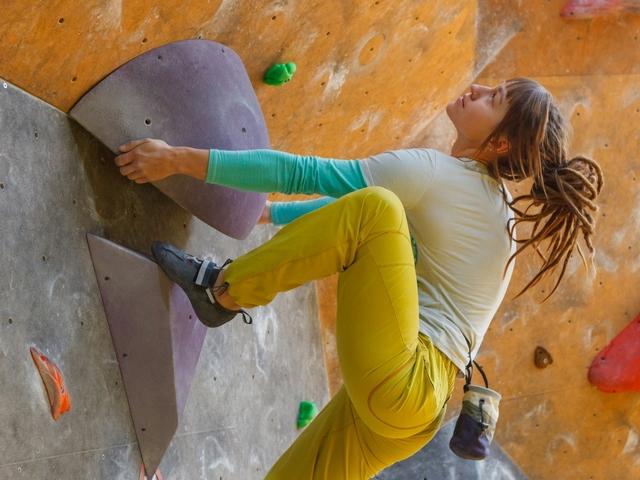 ハイステップのやり方 | ボルダリングの体の動かし方