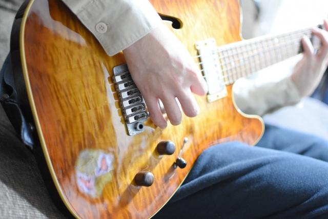 エレキギターのハンマリングのやり方