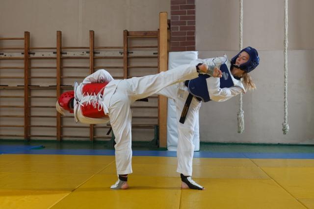押し蹴りのやり方とコツ | テコンドーが上達する練習方法