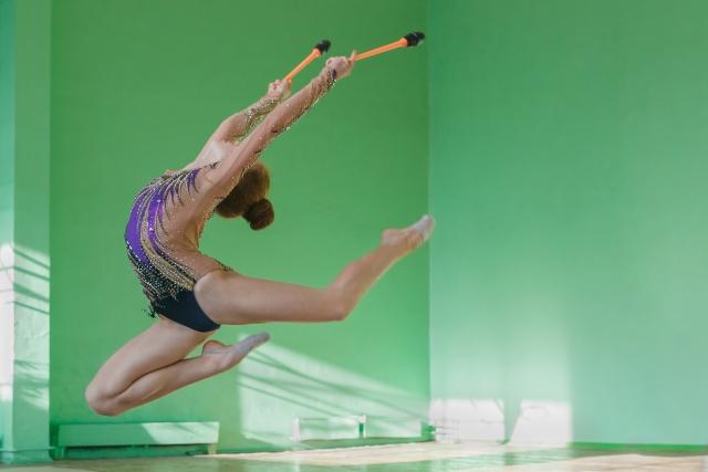 新体操の鹿ジャンプが上達する練習方法