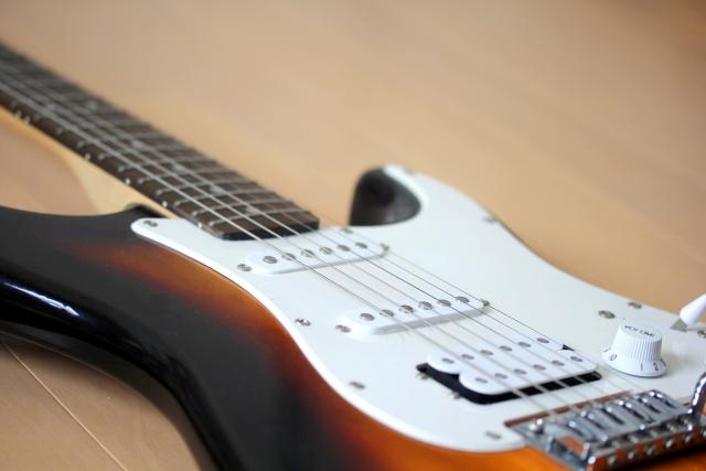 エレキギターのグリッサンドのやり方