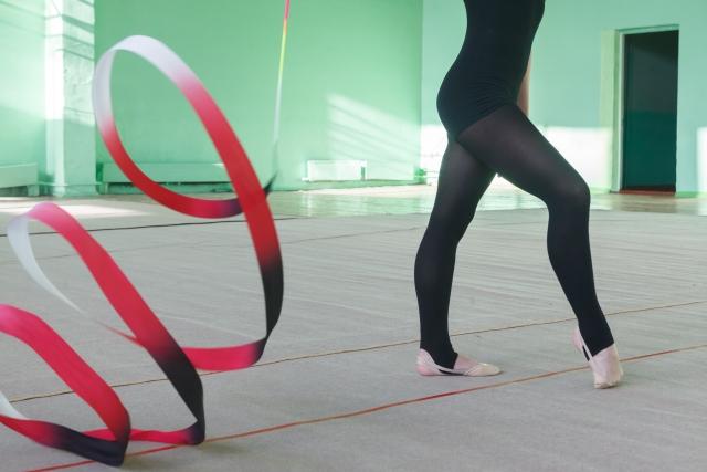 新体操の甲立ちが上達する練習方法