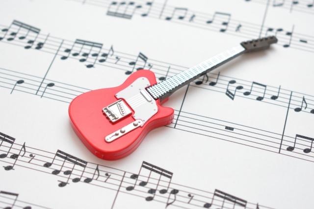 エレキギターのタブ譜の読み方