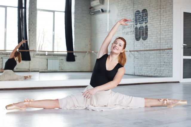 40代後半から50代前半で始めるバレエの柔軟性ついて