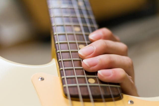 エレキギターのペンタトニックスケールのやり方