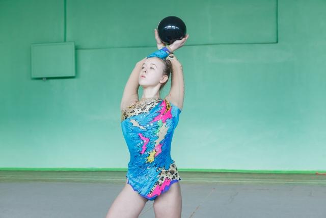 新体操のボールが上達する基礎練習
