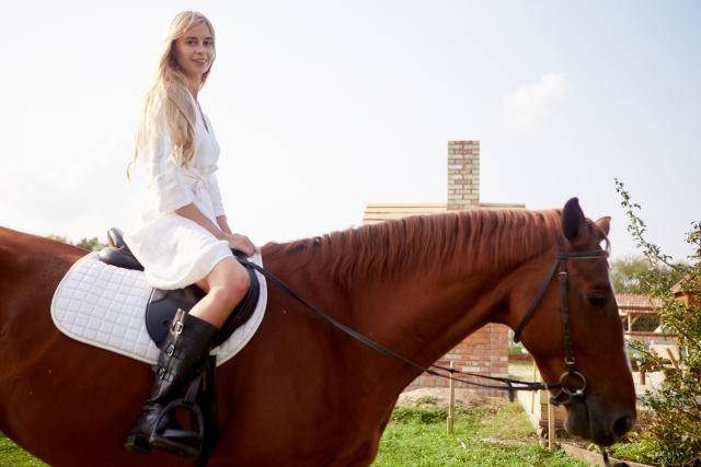 正しい軽速歩のやり方 乗馬の基本