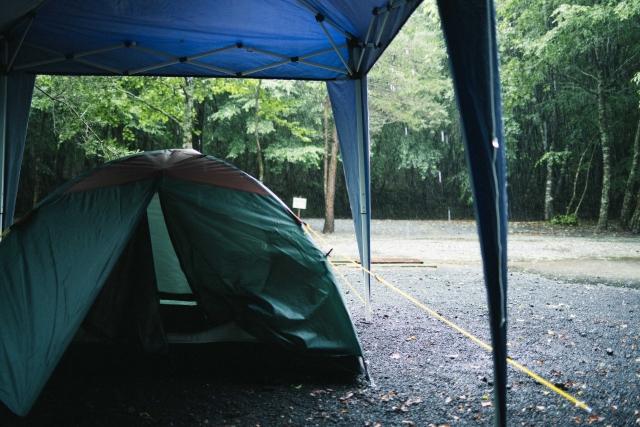 雨対策について   キャンプの基本
