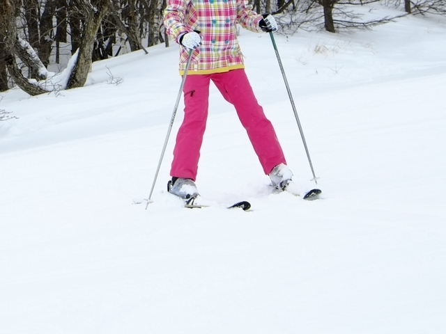 脱初心者のための後傾の直し方   スキーの滑り方