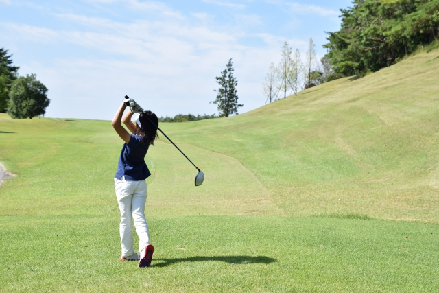 スライスの原因と対策   ゴルフのトラブル脱出法